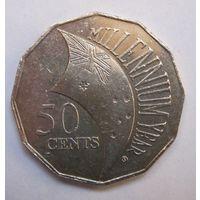 Австралия, 50 центов, 2000