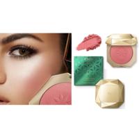 Kiko Milano пудровые румяна с матовым финишем Holiday Gems Plush Suede Blush