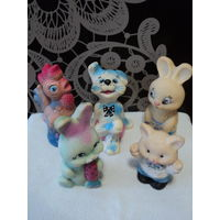 Резиновые игрушки СССР(цена  за 1ед) ,ЛОТ 1