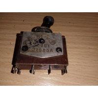 Тумблер ТВ1-2 5А 220V. Тумблер ТВ1-2 на 5 Ампер 220 Вольт.