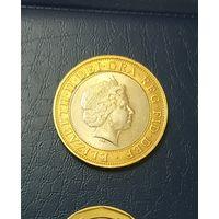2 фунта Великобритания 1999