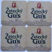 Подставки под пиво Zatecky Gus /Беларусь/ - Одна из серий!