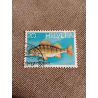 Швейцария 1983. Окунь