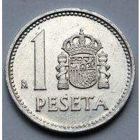 Испания 1 песета, 1987 г.