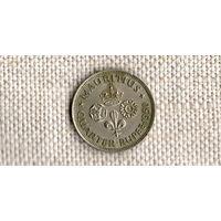 Маврикий 1/4 рупии 1950 ///(ON)