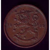 10 пенни 1919 год Финляндия