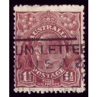 1 марка 1919 год Австралия 32