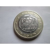 1 евро, Греция 2002 г., буква S