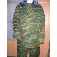 Комплект зимний (куртка + брюки) камуфляж армейский
