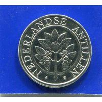 Антильские острова 10 центов 1990 UNC