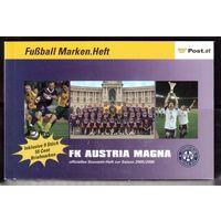 """Австрия-2005,(Мих.)  ** буклет  Спорт, футбол, ФК""""Аустрия"""""""