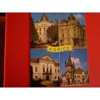 Открытка Польша Кошице Костелы Храмы религия