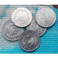 Джибути 5 франков 1991 года. Низкая цена до 25.08!!!