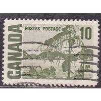 Канада 1967г 100 лет Конфедерации виды ландшафты