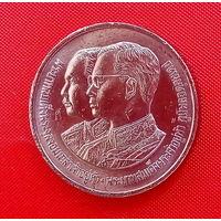37-10 Таиланд, 2 бата 1987 г. (100 лет Военной академии Чулалонгкорна Найрои) Единственное предложение монеты данного года на АУ