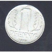 1 пфенниг Германия 1968_Лот #0376