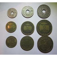 Набор монет старой Франции 1. Распродажа