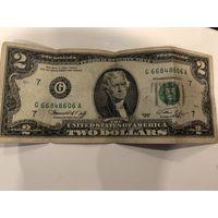 2 доллара 1976 года