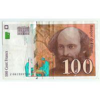 Франция, 100 франков 1998 год.