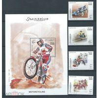 Сомали спорт мотоциклы 2003 MNH