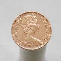 Великобритания 1 пенс 1978