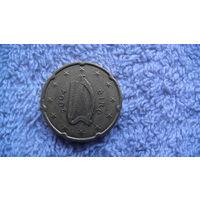 Ирландия 20 евроцентов 2004г. распродажа