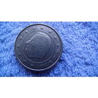 Бельгия 50 евроцентов 2007г. распродажа