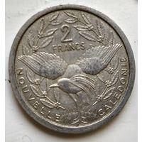 Новая Каледония 2 франка, 1949 3-1-24