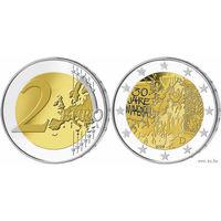 2 евро 2019 Германия (30 лет падения Берлинской стены. Состояние на фото)