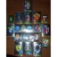 Наклейки Эмблемы клубов серии А сезона 17-18