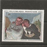 1966 Франция Живопись