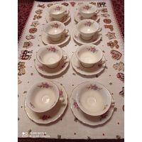 Коллекционная чайно-кофейная пара Friederiks,  КРМ, Германия  8 штук