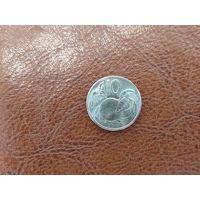 10 центов 2015 Острова Кука