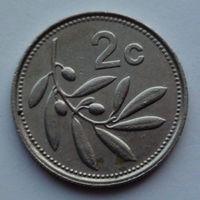 Мальта 2 цента. 1991