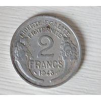 2 франка 1948 Франция