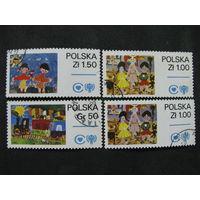 Польша 1979 Международный день ребенка полная серия