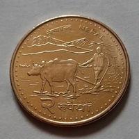 2 рупии, Непал 2009 г.