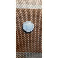 Цейлон 25 центов 1900