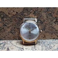 Часы Poljot de luxe,позолота au20,автоподзавод,редкие.Старт с рубля.