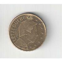 10 евроцент  2002 года Люксембурга