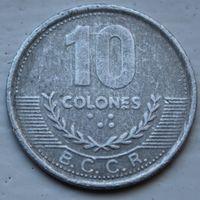 Коста-Рика, 10 колон 2008 г