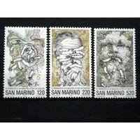 Сан Марино 1980 (Ми-1206-8) Борьба с курением**
