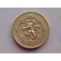 Великобритания 1 фунт 1994