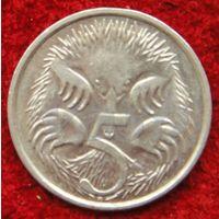 7318:  5 центов 2008 Австралия
