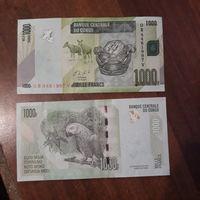 1000 франков Конго
