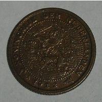 Нидерланды,  1/2 Центa 1912 (106)