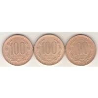 100 песо 1981, 1985, 1986 г.