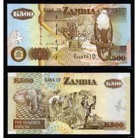 Zambia/ Замбия - 500 Kwacha 1992 (БУМАГА!!!) UNC