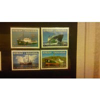 Корабли, флот, транспорт, фауна, птицы, марки, распродажа, Мадагаскар 1996