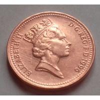 1 пенни, Великобритания 1996 г., AU